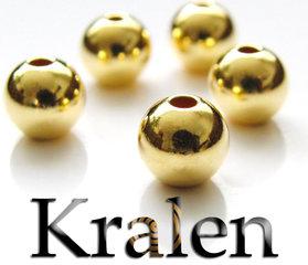 Kralen- Verguld