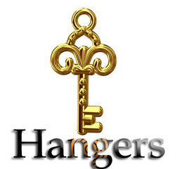 Bedels, Hangers, Charms- Verguld