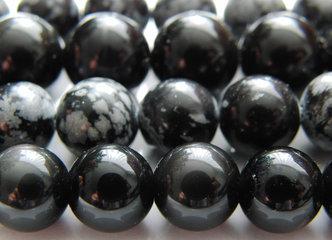 Obsidiaan Edelsteen Kralen