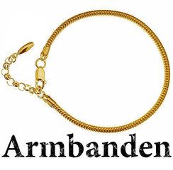 Armbanden- Verguld