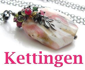 Kettingen en Hangers met Edelstenen & Kristallen