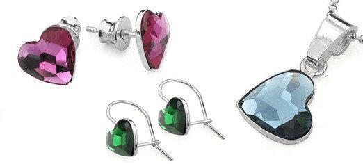 Voor-Swarovski-Hart-Kristallen