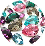 Voor-Swarovski-Druppel-Kristallen