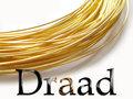 Draad--Verguld