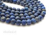 8mm Lapis Lazuli Edelstenen Kralen- Mat_