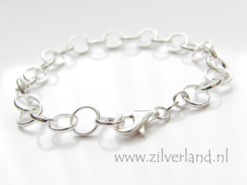 Sterling Zilveren Charms Armband