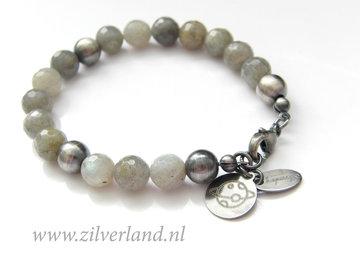 Handgemaakte Edelstenen Armband met Labradoriet