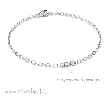 15,5cm Sterling Zilveren Armband