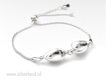 Sterling Zilveren Armband voor UV Resin of 14mm Swarovski Druppels