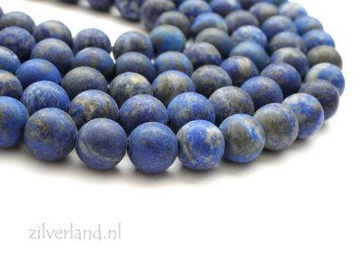 8mm Lapis Lazuli Edelstenen Kralen- Mat