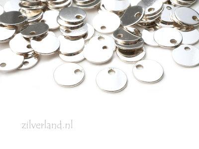 10 Stuks 6mm Sterling Zilveren Hangertje, Sieraden Bedeltje