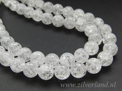 12mm Bergkristal Kralen/ Snowflake