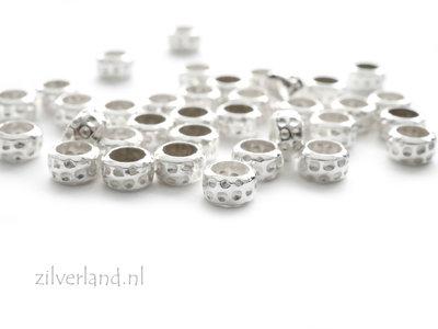 10 Stuks Sterling Zilveren Kralen