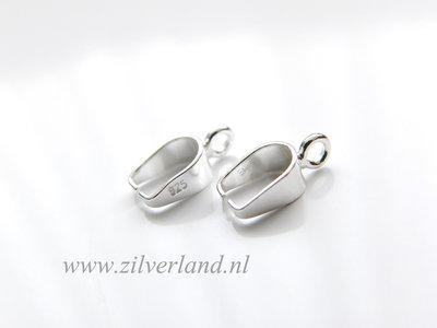 1 Stuk Sterling Zilveren Hangerklem