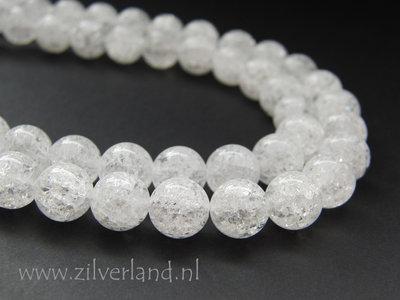10mm Bergkristal Kralen/ Snowflake