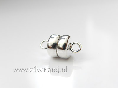 Sterling Zilveren Magneetslot 8mm