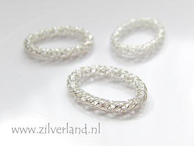 1 Stuk Sterling Zilveren Ring