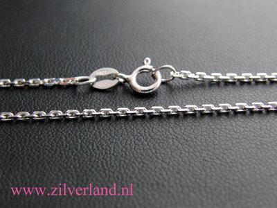 1,50mm Sterling Zilveren Collier Anker- 55cm