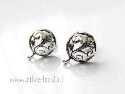Sterling Zilveren Bali Oorstekers