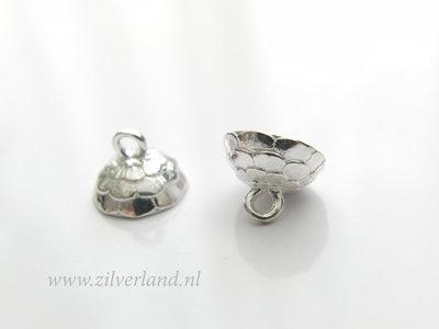 1 Stuk Sterling Zilveren Kraalhanger met Pin