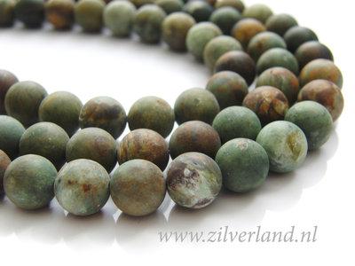 10mm Groene Opaal Edelstenen Kralen- Mat