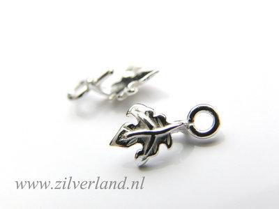Sterling Zilveren Hangerklem met Pin- Blaadje