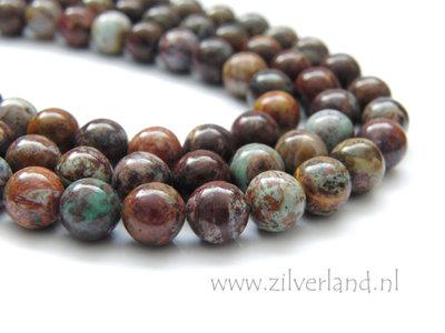 8mm Afrikaanse Groene Opaal Edelstenen Kralen