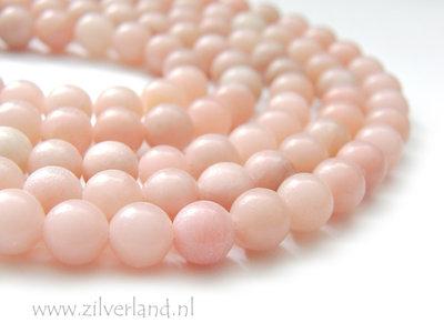 8mm Roze Opaal Edelstenen Kralen