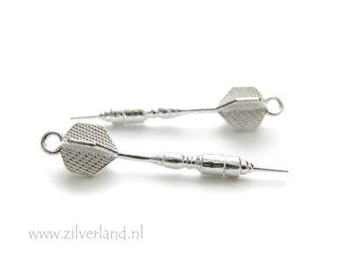 Sterling Zilveren Hanger- Dartpijl