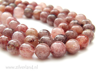 10mm Strawberry Quartz Kralen