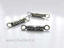 1 Stuk Sterling Zilveren Bali Connector