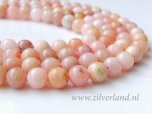 8mm Peruaanse Roze Opaal Edelstenen Kralen