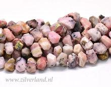Peruaanse Roze Opaal Edelstenen Kralen- Nugget