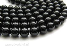 8mm Zwarte Toermalijn Edelstenen Kralen