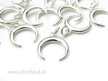 Sterling Zilveren Hanger- Maan