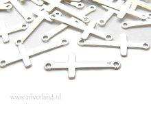Sterling Zilveren Hanger/Connector- Kruis